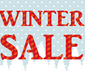 Winter sales have started! Prices are reduced...