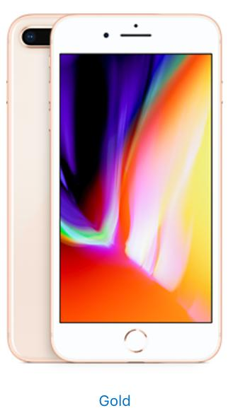 Apple iPhone 8 Plus - 256GB - Gold (Unlocked)
