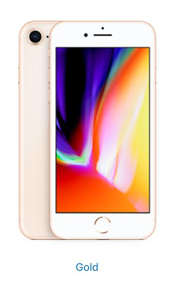 Apple iPhone 8 - 256GB - Gold (Unlocked)