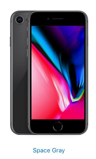 Apple iPhone 8 - 256GB - Space Gray (Unlocked)