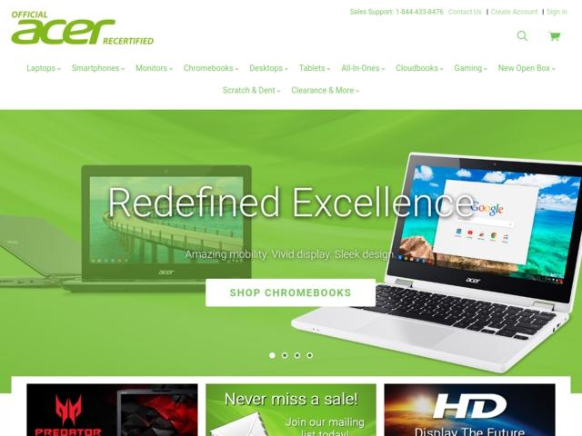 Order Acer Recertified in Russia