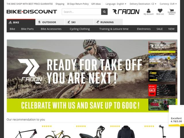 Order Bike-discount in Russia