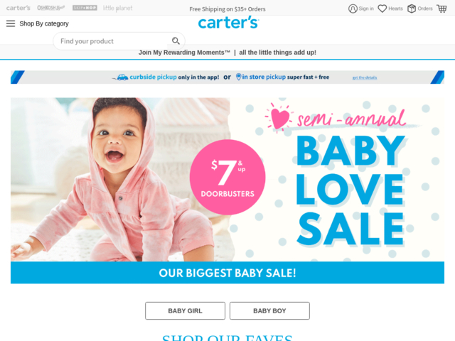 Order Carters in Ukraine