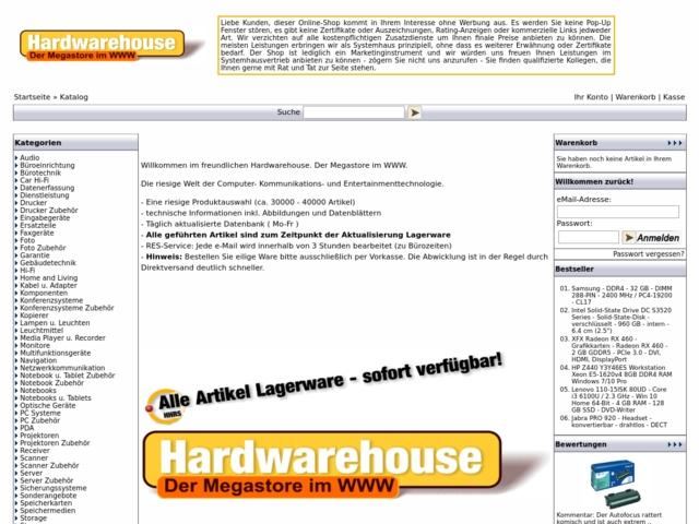 Hardwarehouse DE
