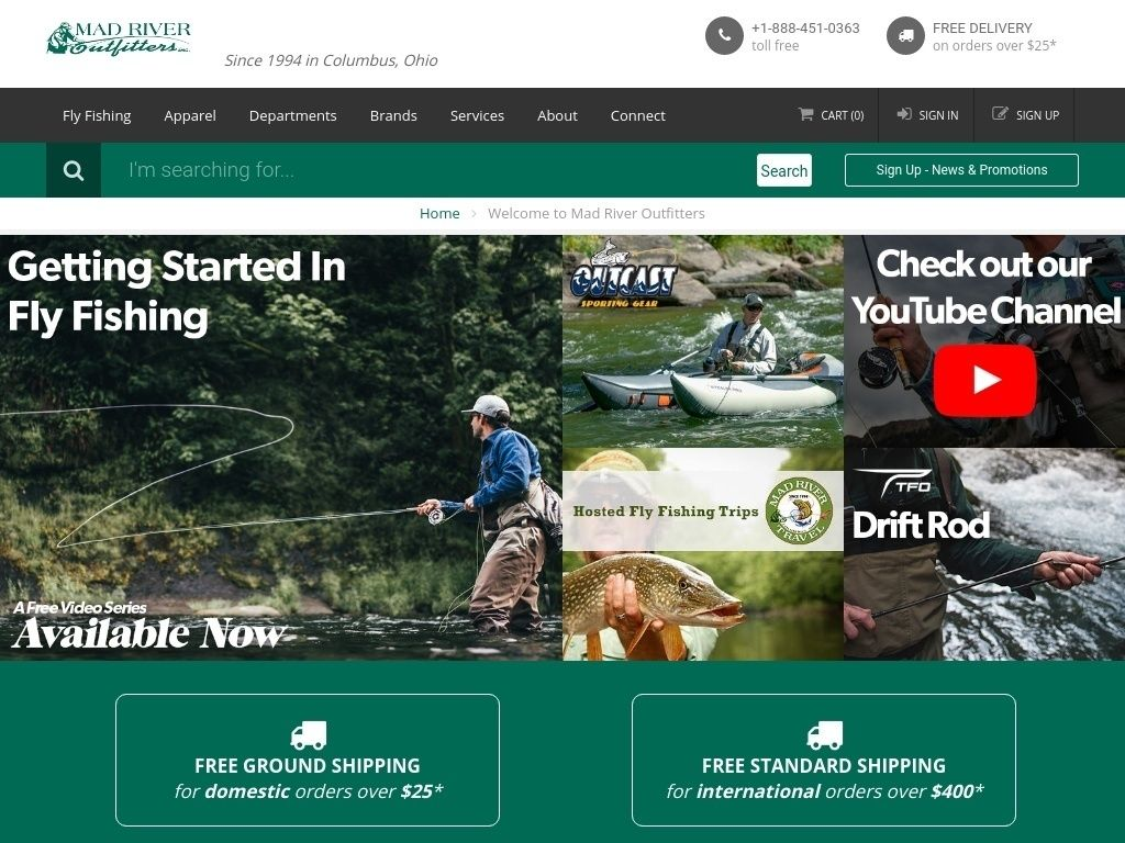 Online stores of goods for fishing in Russia: a selection of sites