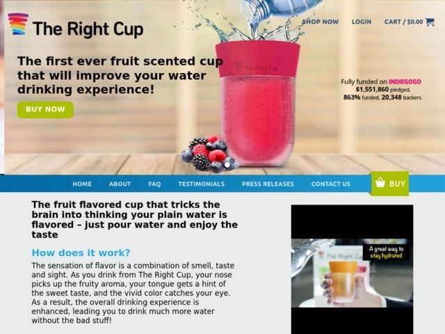 The right cup USA