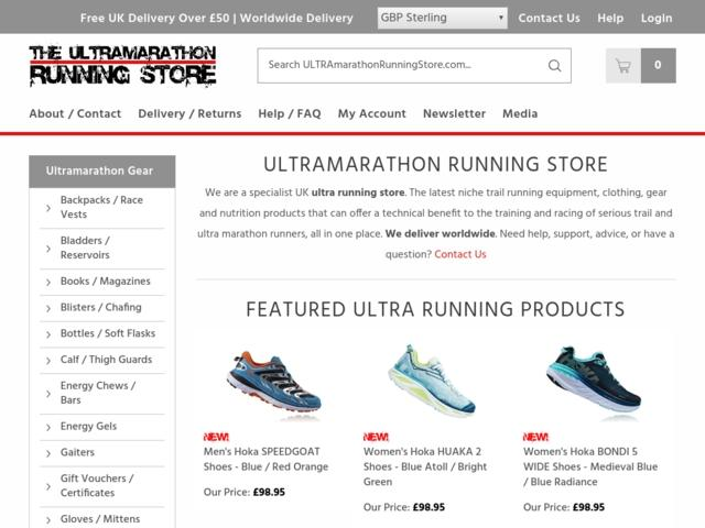 Ultra marathon running UK