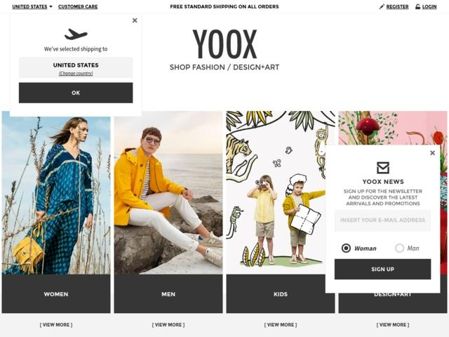 Order Yoox in Ukraine
